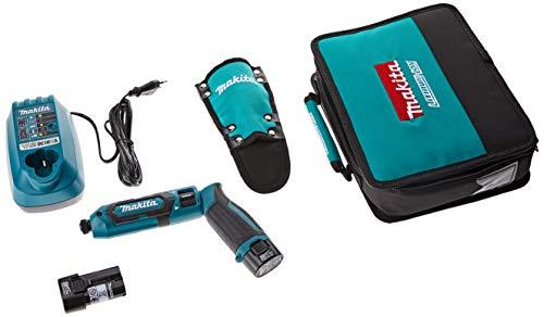 Makita TD022DSE TD022DSE-Avvitatore a percussione a batteria, 7,2 V, 0 W, 0 V, Petrolio, (L x B x H) 227 x 42 x 142 mm