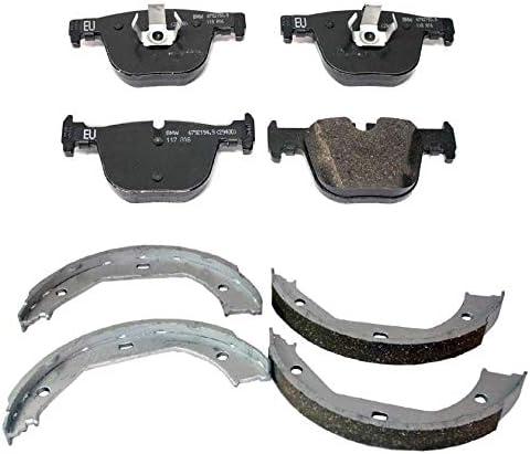 Genuine Choice Rear Brake Pad Set Oklahoma City Mall Parking Shoes F F31 Kit BMW For F30