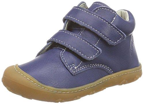 RICOSTA Chrisy, Sneakers Basses Mixte Enfant - Bleu - Blau (Kobalt 156), 19