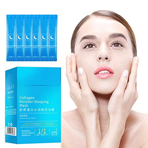 Queen's Skin Reborn Cooling Face Mask, Ice Cream Cooling Body Mask, Creamy Skin Cooling Mask Gel, Collagen Moisten Sleeping Mask, Cooling Mask No-Wash Sleep Mask