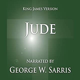 The Holy Bible - KJV: Jude                   By:                                                                                                                                 George W. Sarris (publisher)                               Narrated by:                                                                                                                                 George W. Sarris                      Length: 4 mins     8 ratings     Overall 5.0