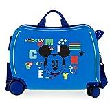 Disney Mickey Shape Shifter Maleta Infantil Multicolor 50x39x20 cms Rígida ABS Cierre de combinación Lateral 34L 3 kgs 4 Equipaje de Mano