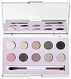 Wakeup Cosmetics Palette 10 ombretti Earth& Sky, finish semi matte, shimmer, metallic e satin, 01