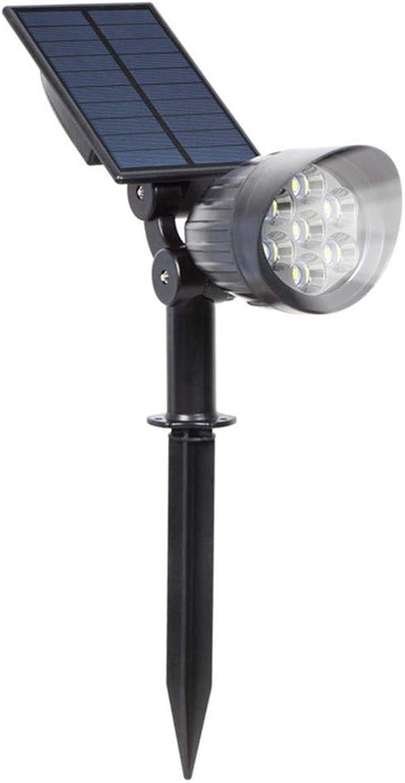 Geführte Scheinwerfer-helle Scheinwerfer-Innenhof-Wandlampe im Freien, die Solarstecker-Licht im Freien drahtlos wasserdicht für Durchgang-Fugngerpatio-Hof-Garten und Landschaft