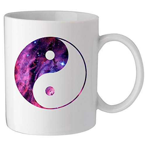 Nothingtowear Yin Yang Cosmic Celestial ogo Keramik Tasse Kaffeetasse Teetasse Becher Mug