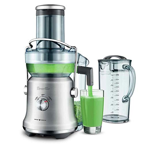Breville The Juice Fountain Cold Plus Fountain Juicers, Brushed Stainless Steel, BJE530BSS
