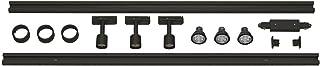 SLV KIT Complet Monophasé 230V Spots PURI et Rail | Luminaire Lampe Indoor Aluminium Noir Lampe Intérieure, Lampe d'Intérieur