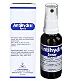 Antihydral Spray 30mL w/Salvia-Sage Herb Oil. Keep Sweaty Hands, Armpits, Foot & Genital Skin Areas...