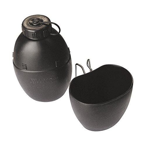 kombatuk 58Muster Wasserflasche und Becher–Überleben–Camping–Jagd–Angeln etc.