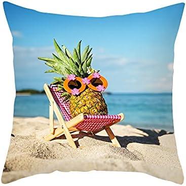 Summer Beach Pineapple Pillowcase Home Room Decoration Elegant Wholesale Living Be