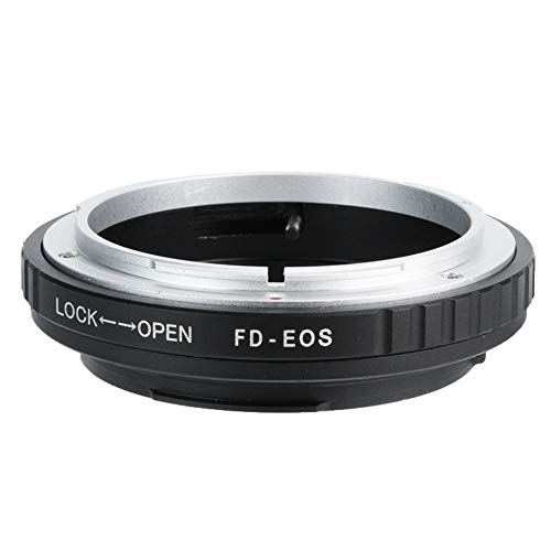 Bigking Adattatore FD, FD ‑ EOS Adattatore ad Anello EF Adattatore per Obiettivo Obiettivo FD per Fotocamera Canon EOS con Attacco EF