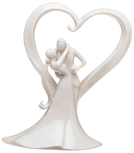 Weddingstar Stylish Embrace Cake Topp