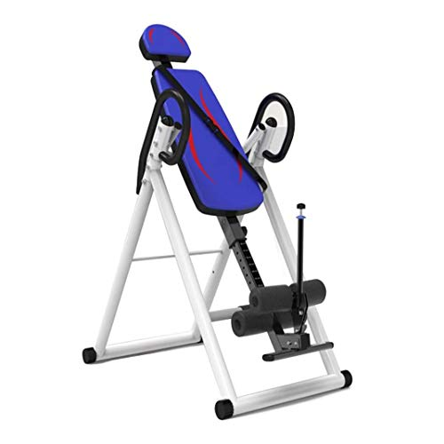 Review Of ZDMSEJ Gravity Inversion Table, Foldable Back Neck Pain Relief Upside Down Stretching Inve...