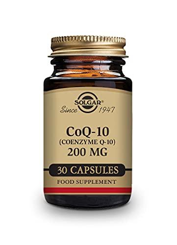 Coenzima Q10 30 cápsulas vegetales 200 mg de Solgar