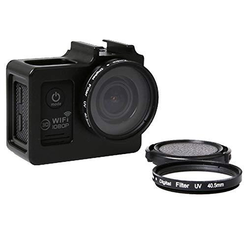 Bolso de la cámara BZN Caja protectora SG169 aleación de aluminio universal con filtro UV 40.5mm y protector de lente for SJCAM SJ4000 y SJ4000 y SJ4000 Wifi + Wifi y SJ6000 y SJ7000 acción de la cáma