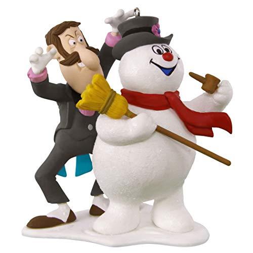 Hallmark Keepsake Christmas Ornament 2019 Year Dated Frosty The Snowman 50th Anniversary