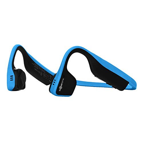AfterShokz Trekz Titanium Bloothooth Bone Conduction Kabellos Kopfhörer, Blau