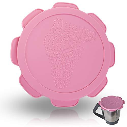 Couvercle en silicone pour mixeur Vorwerk Thermomix TM5 TM6 Protection étanche à l'eau et à l'air. Mixcover l'accessoire indispensable pour votre machine de cuisine. - Printemps Rosé