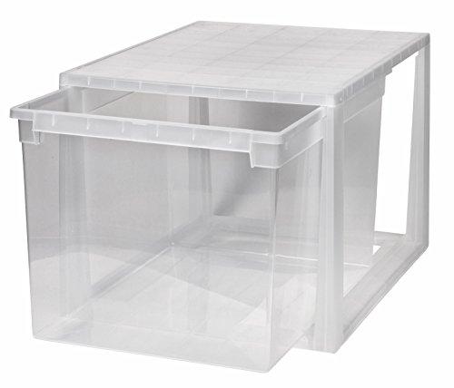 Kreher XXL Schubladenbox mit extra Tiefe und einem Nutzvolumen von 48 Litern. Passend für z.B. Bettwäsche, Laken, Kissen, u.v.m. Kombinierbar mit Anderen Boxen zu einem Boxensystem! SUPER