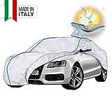 Walser Telone per Auto 31038 in PEVA, Copertura Impermeabile per Auto, Garage Completo, Protezione Solare, Protezione dai Raggi UV