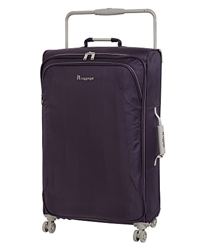 it luggage World's Lightest 31.5' 8 Wheel Lightweight Spinner, Purple Pennant