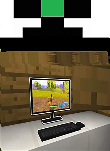 Minecraft- How to make a Monitor and Laptop (English Edition)