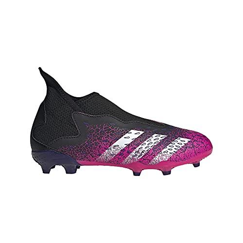 adidas Predator Freak .3 LL FG J, Zapatillas de fútbol, NEGBÁS/FTWBLA/ROSSHO, 35 EU
