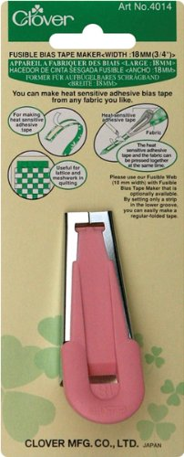 "Fusible Bias Tape Maker-3/4"" 1 pcs sku# 642912MA"