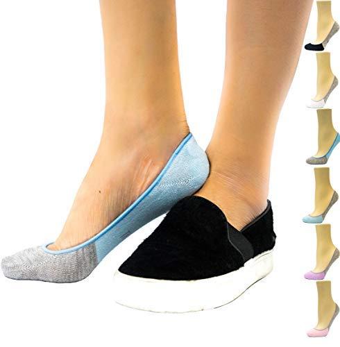 Thirty48 Women's No Show Socks, Loafer Socks Boat Shoe Socks Liner Socks with Coolplus, Non-Slip Grip…