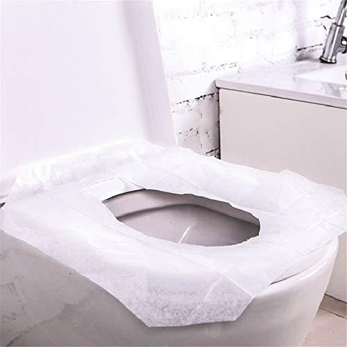 30pc/100% imperméable à l'eau jetable siège de toilette housse tapis papier toilette Pad salle de bain autre salle de bains Accessoires WC mat imperméable à l'eau antibactérien papier hygiénique Pad