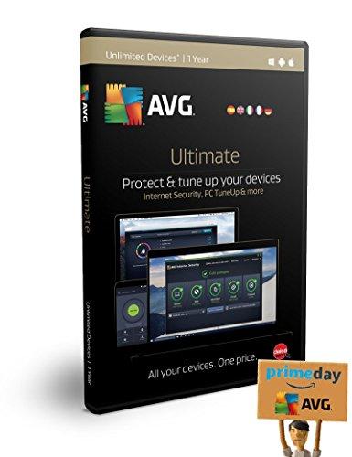 AVG Ultimate 2017 | Dispositivos Ilimitados | 1 Año