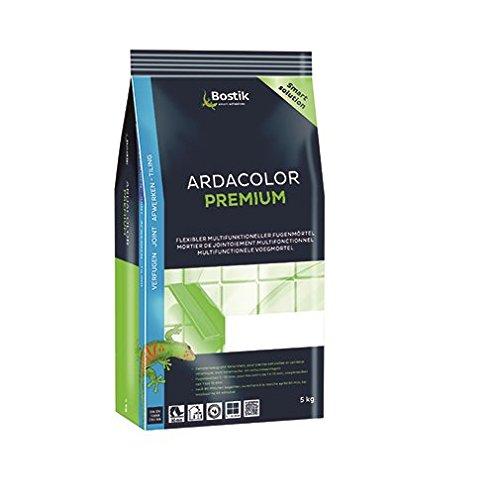 Bostik Ardacolor Premium Fuge Fliesen Naturstein Fugenmörtel 5Kg anthrazit