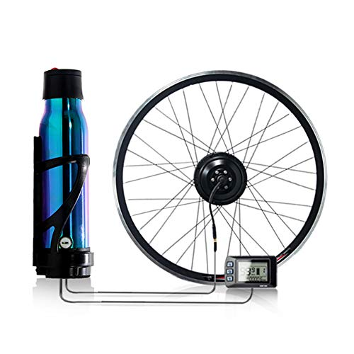 CBPE Rear Wheel Electric Bicycle Conversion Kit, 36V 350W E-Bike Motor Kit with LCD Display, Intelligent Controller and PAS System for 16' X 1.95' to 29' Tire,29'