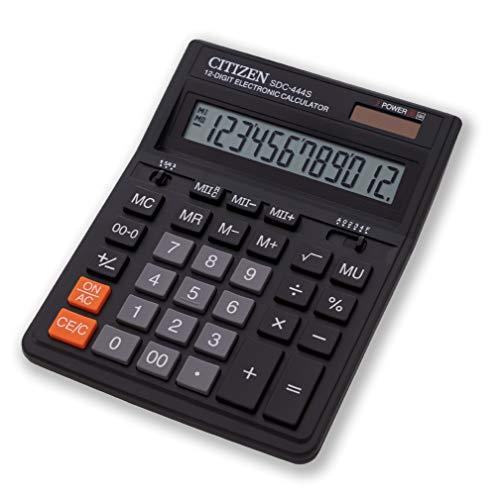 Citizen SDC-444S Tischrechner schwarz