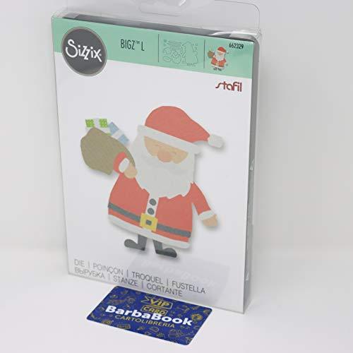 Sizzix Fustella Big Shot BigZ L 662329 Babbo Natale e Regali