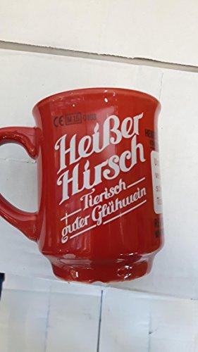 Heißer Hirsch Glühwein Becher 1x 0,2 l