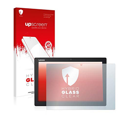 upscreen Hybrid Glass Panzerglas Schutzfolie kompatibel mit Lenovo IdeaPad Miix 510-12ISK 9H Panzerglas-Folie