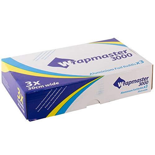 Buy Discount Aluminum Foil Roll Refills Pack quantity: 3 Rolls. 12″(W)x 295ft (L)