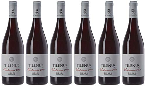 Tilenus Vendimia Vino Tinto, 750 ml, Pack de 6