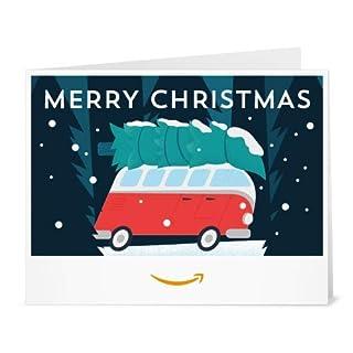 Amazon Gift Card - Print - Christmas Van (B07K2VB3HT) | Amazon price tracker / tracking, Amazon price history charts, Amazon price watches, Amazon price drop alerts