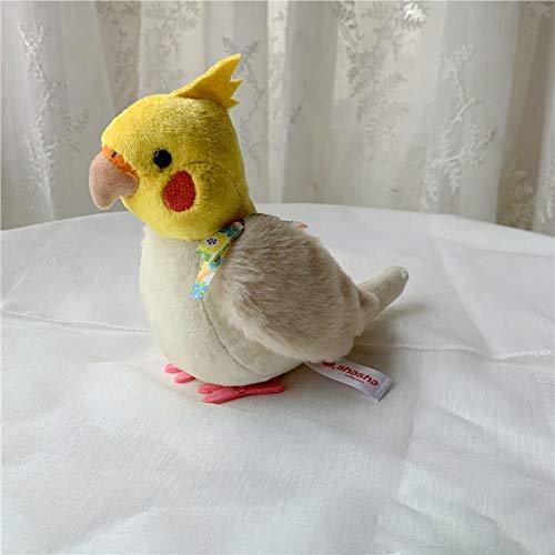 zcm Plüschtier 14cm Nymphensittich Plüschtiere Weiche Kuscheltiere Spielzeug Wellensittich Vögel Kuscheltiere Geschenke Für Kinder