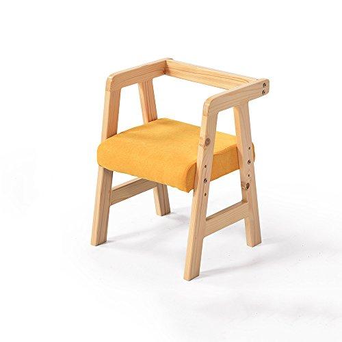 Voetkrukken & Ottomanen XUERUI Meubilair Kinderstoel Hout + Doek + Kwaliteit Spons 33CM * 32CM * 49CM Groen, Geel, Blauw Sterke Stabiliteit