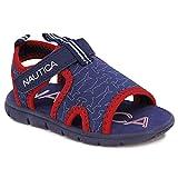 Nautica Kids Sports Sandals - Water Shoes Open Toe Athletic Summer Sandal Boy - Girl -Diera-Navy Hammerhead-5