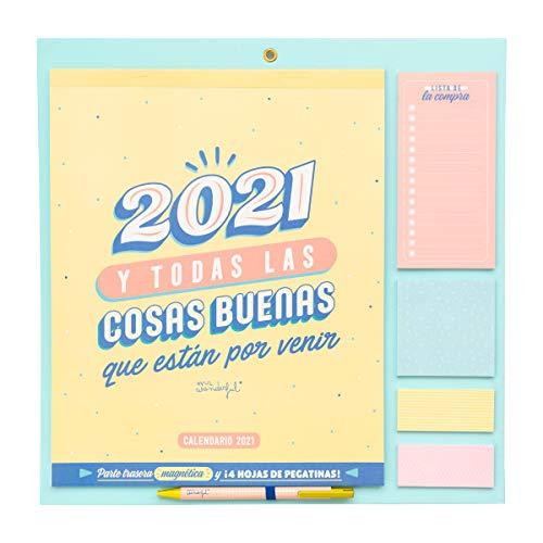 Calendario de pared - 2021 y todas las cosas buenas que están por venir