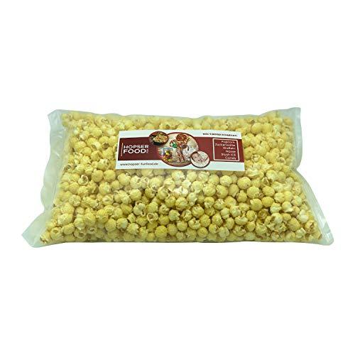 Süßes Mushroom Popcorn 1 kg in verschiedenen Varianten frisch Handgemacht in Brandenburger Popcorn Manufaktur (Weiß Zucker Süß)