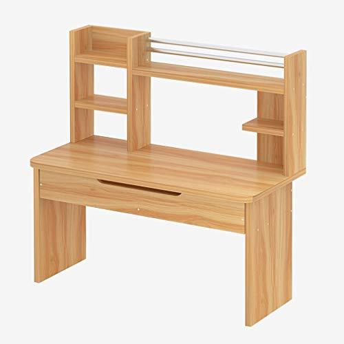 CHGDFQ Mesa de escritorio portátil con cajones de altura para portátil – cama individual