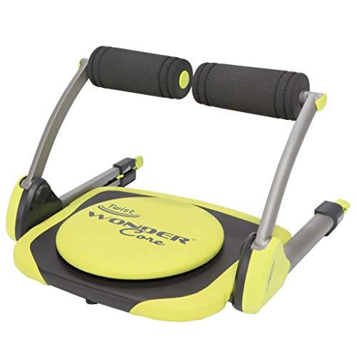 Wonder Core Twist Bicicleta estática, Unisex Adulto, Amaril