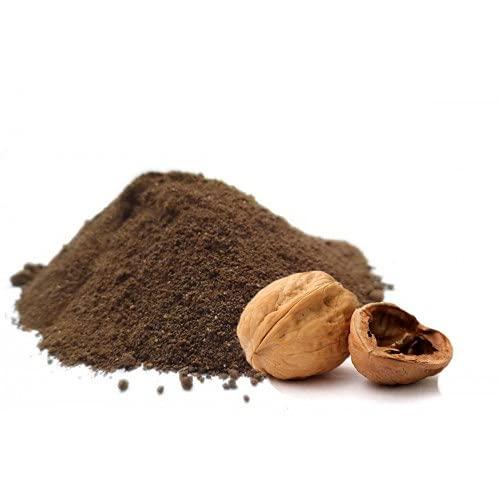 broux de noix 100 gr Brou de noix en poudre NATUREL EXCELLENTE QUALITE - sachet kraft refermable - 100 gr