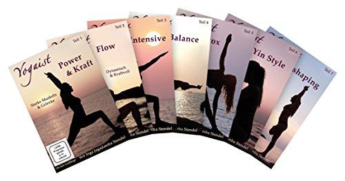 Yogaist Mind & Body Reihe - Package Teil 1-7 [7 DVDs]