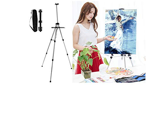 ASPECT Portable 55' Easel | Adjustable | Art Easel Stand Tabletop and Floor...